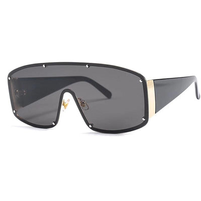 Ryder Crystal Rivet Shield Sunglasses, Men's Accessories, BEL EPOQ