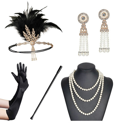 Diana Roaring '20s Flapper Accessory Set, Women's Accessories, BEL EPOQ