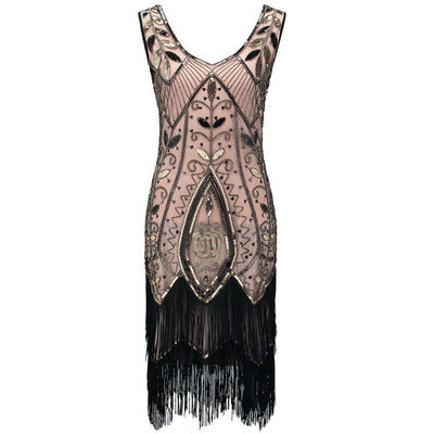 Bebe Roaring '20s Flapper Fringe Dress, Women's Dresses, BEL EPOQ