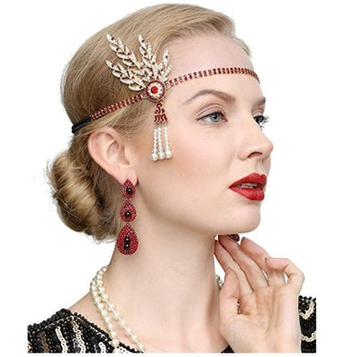 Billie Roaring '20s Flapper Accessory Set, Women's Accessories, BEL EPOQ