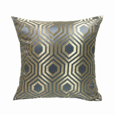 Marina Geometric Jacquard Cushion Cover, Accents, BEL EPOQ