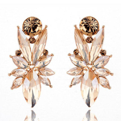 Glittering Future Crystal Statement Earrings, Women's Jewellery, BEL EPOQ