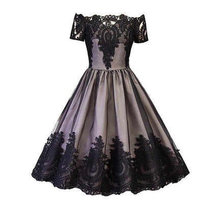 Izzy Lace Tulle 1950s Swing Dress, Women's Dresses, BEL EPOQ