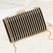 Give Me The Night Gold Deco Clutch Bag, Women's Bags, BEL EPOQ