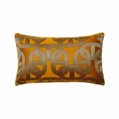 El Sol Geometric Jacquard Breakfast Cushion Cover, Accents, BEL EPOQ