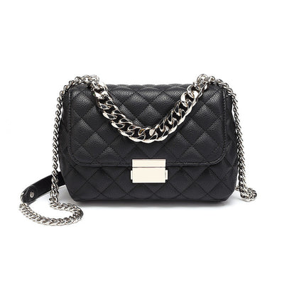Aja Quilted PU Chain Shoulder Bag