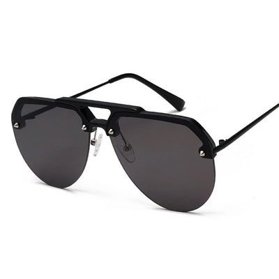 Carlos Semi-Rimless Aviator Sunglasses, Men's Accessories, BEL EPOQ