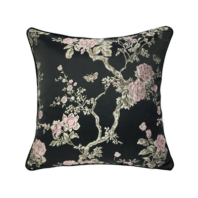 Midnight Garden Jacquard Cushion Cover, Accents, BEL EPOQ