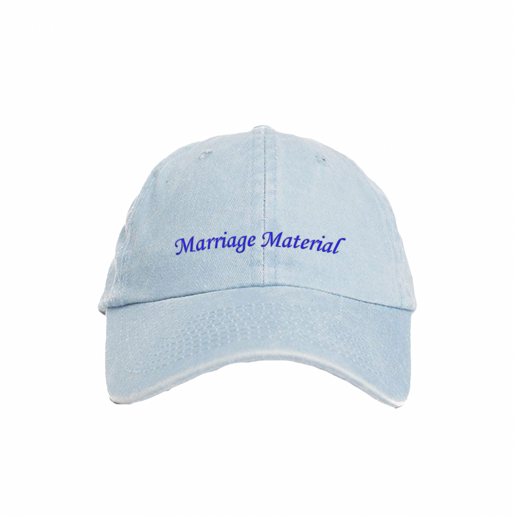 MARRIAGE MATERIAL DENIM
