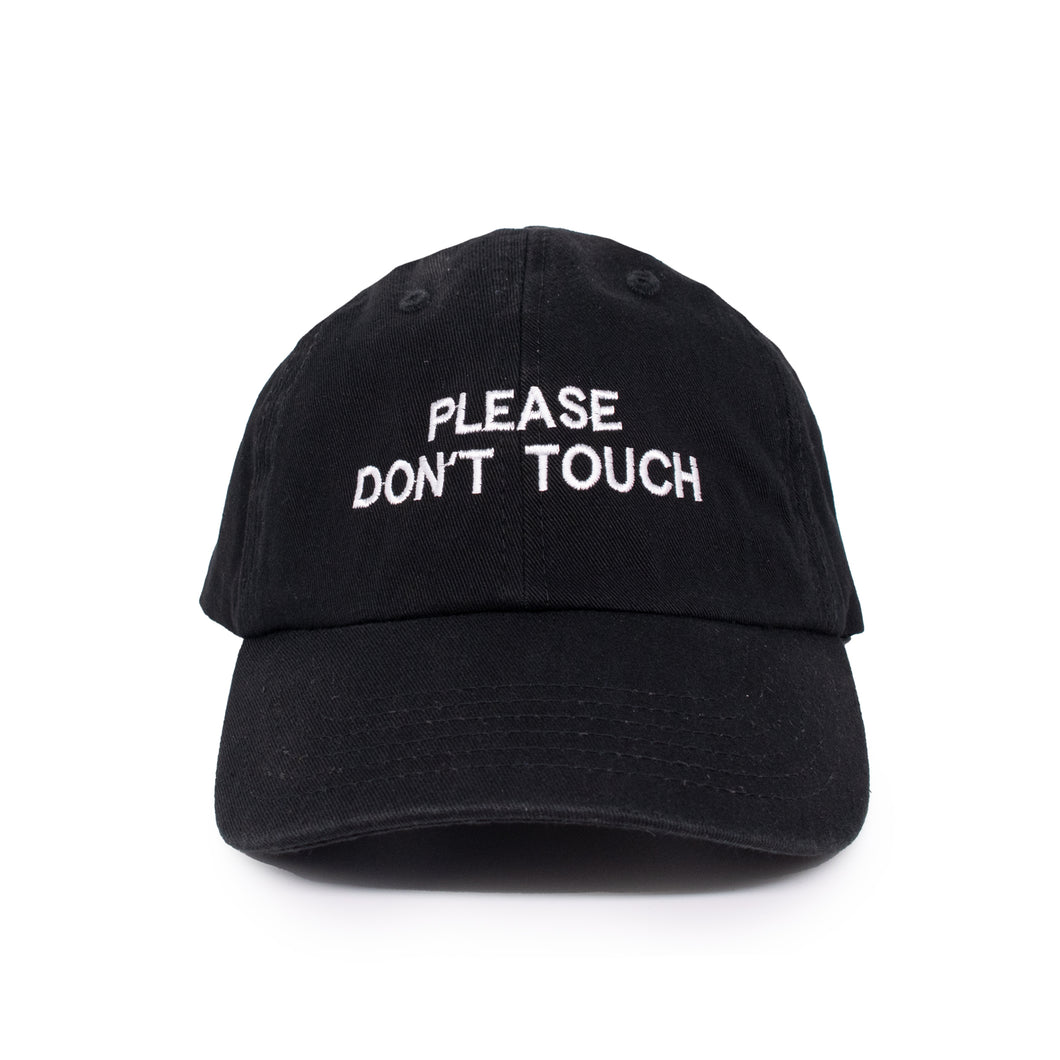 PLEASE DON'T TOUCH