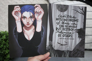 Karou Double-sided 6x8 Sturdy (Thick) Art Print