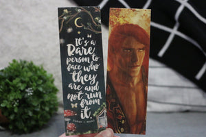 ACOTAR/Lucien Double-sided Wooden Bookmark