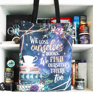 Bookish Quote Tote Bag