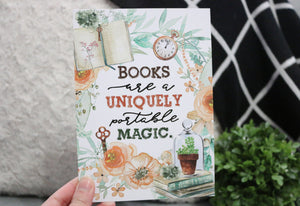 NEW Books Are A Uniquely - 5x7 Art Print