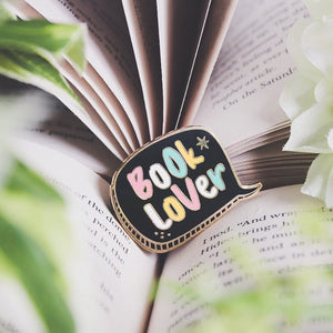 Booklover - Enamel Pin