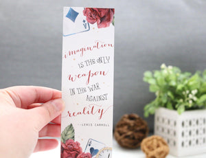 Imagination Bookmark - Wonderland
