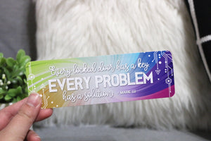 Every Locked Door Bookmark - Warcross