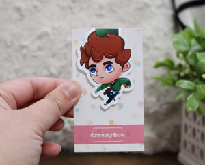Wylan - The Dregs - Six of Crows Magnetic Bookmark