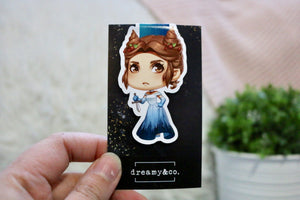 Kingmaker (Silketara) Magnetic Bookmark
