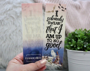Solemnly Swear - Wooden Bookmark