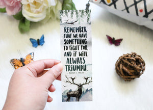Remember That We Have Something Bookmark - KoA Sarah J. Maas