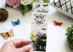 Something Wicked This Way Comes Bookmark