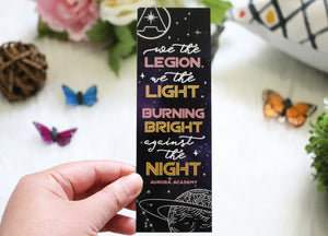 We The Legion Bookmark - Aurora Rising