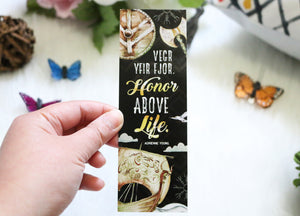 Honor Above Life Bookmark - Sky in the Deep
