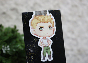 Rhys (Silketara) Magnetic Bookmark - Illuminae Files