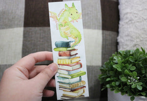 Book Dragon Bookmark