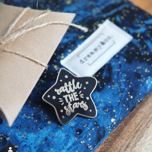 Rattle the Stars  Enamel Pin - Throne of Glass