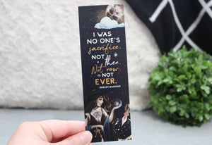 I Was No One's Sacrifice Bookmark - Serpent & Dove