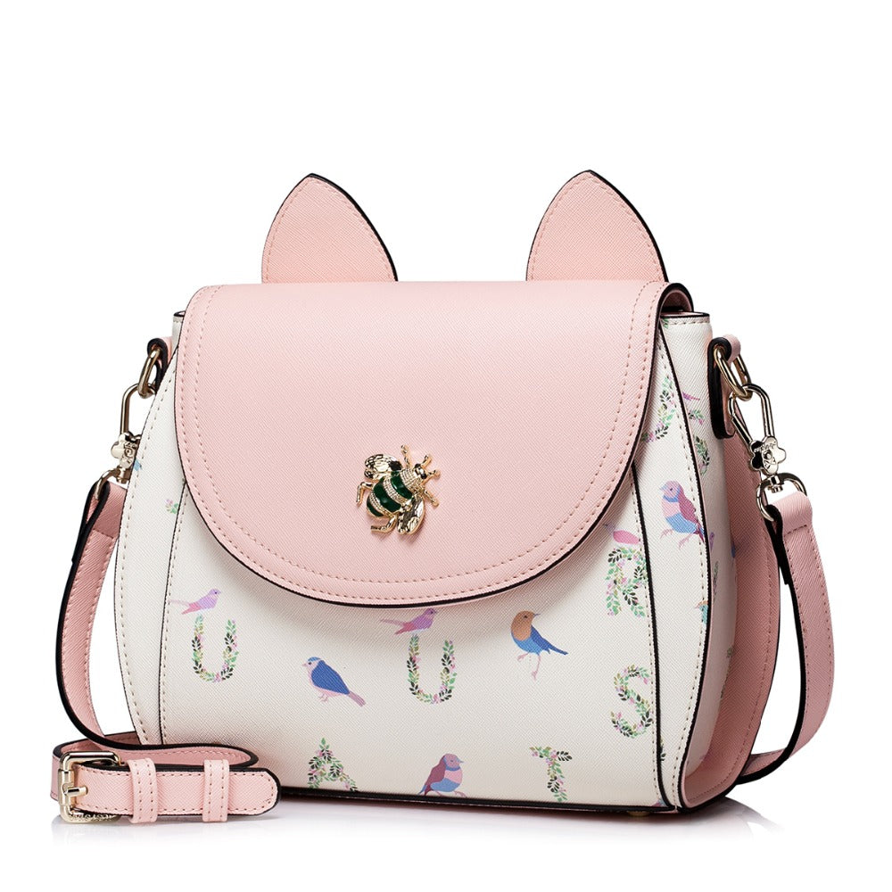 Adorable Cross Body Shoulder Bag - Kitty Kraze