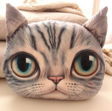 Kitty Cartoon Pillow