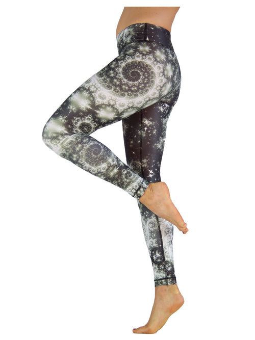 Milky Wave by Niyama - High Quality, Yoga Legging for Movement Artists.