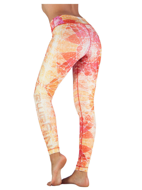 Sunset by Niyama - High Quality, Yoga Legging for Movement Artists.