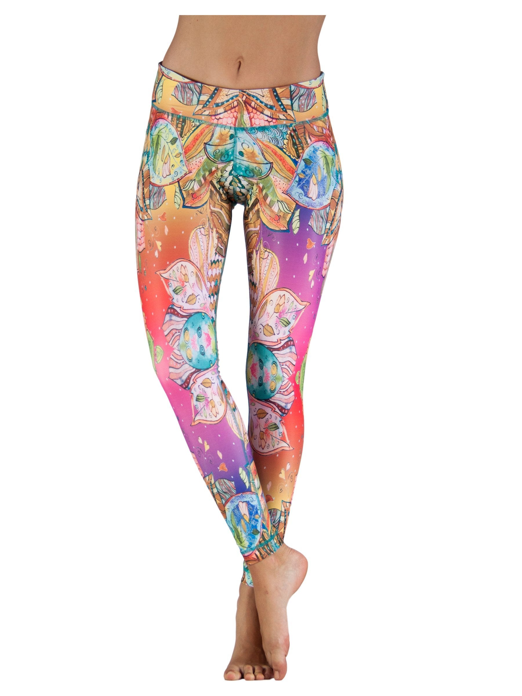 Barcelona by Niyama - High Quality, Yoga Legging for Movement Artists.