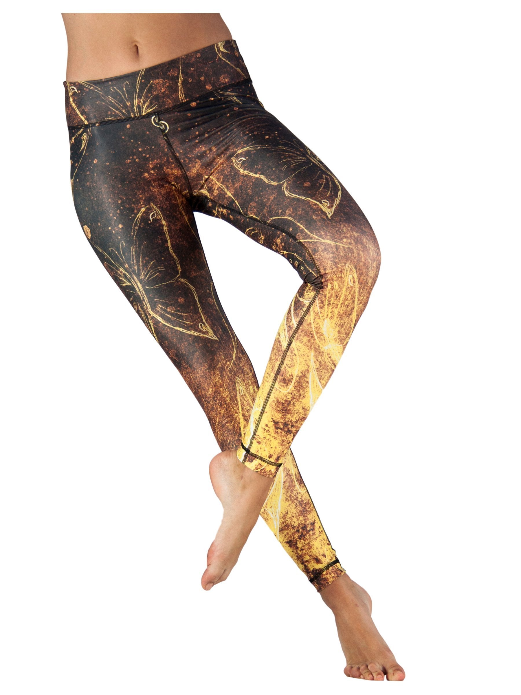 Bell-Rock Butterfly by Niyama - High Quality, Yoga Legging for Movement Artists.