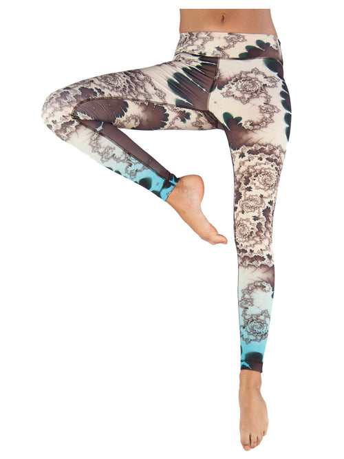 Emerald Spring by Niyama - High Quality, Yoga Legging for Movement Artists.