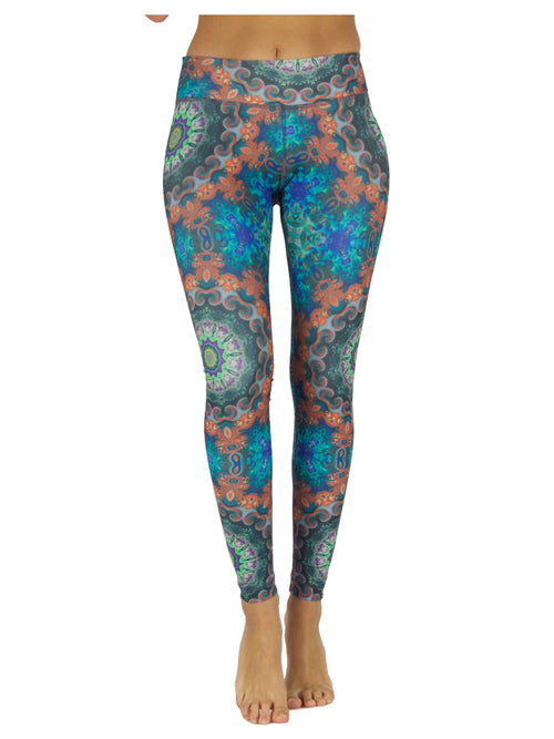 Flower Power by Niyama - High Quality, Yoga Legging for Movement Artists.