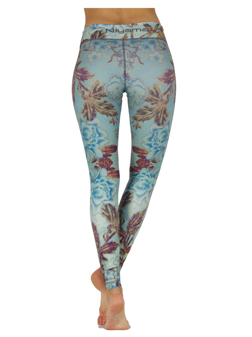 Roses and Wine by Niyama - High Quality, Yoga Legging for Movement Artists.