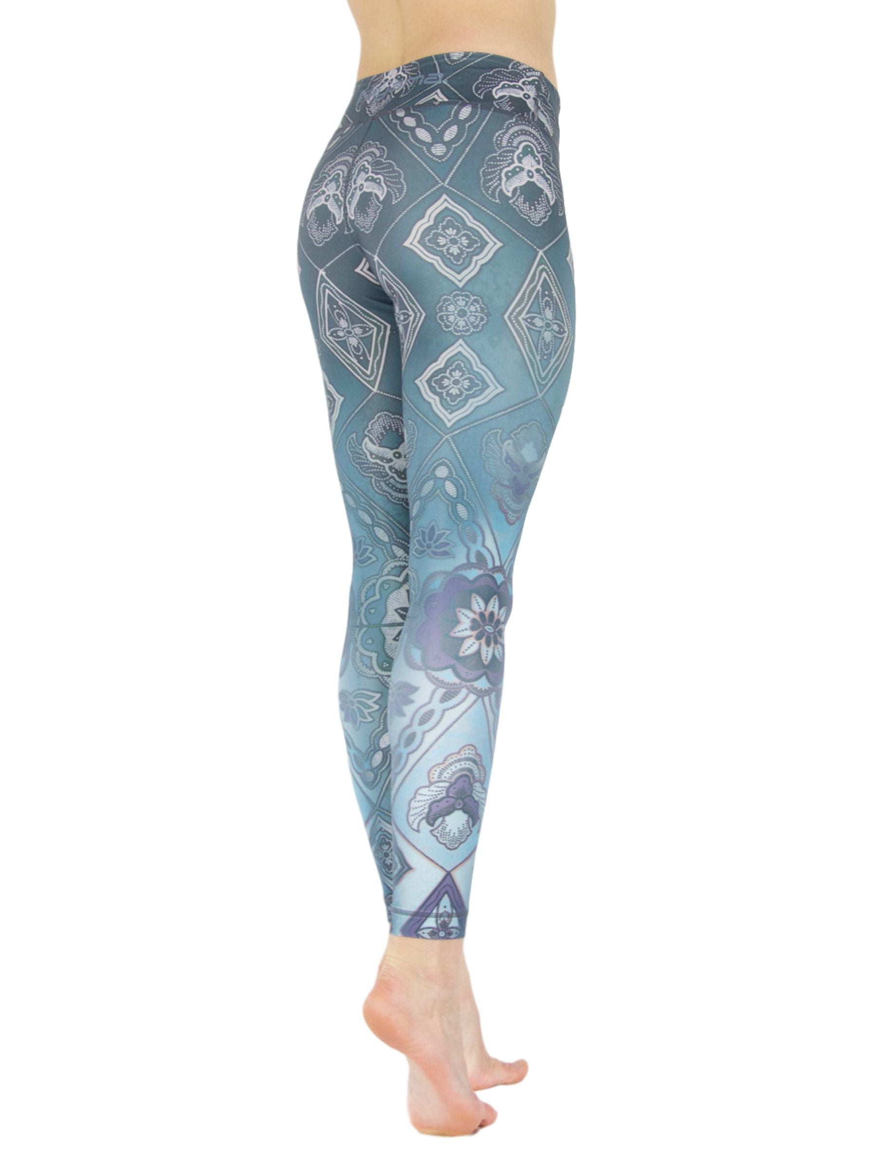 Caleidoscope by Niyama - High Quality, Yoga Legging for Movement Artists.