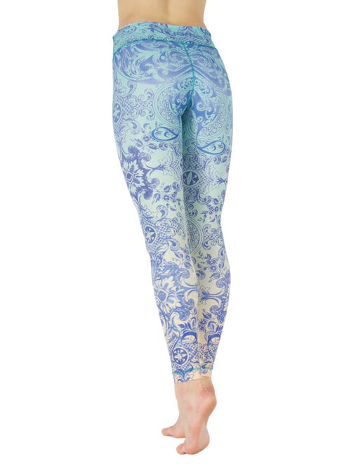 Bahama Breeze by Niyama - High Quality, Yoga Legging for Movement Artists.