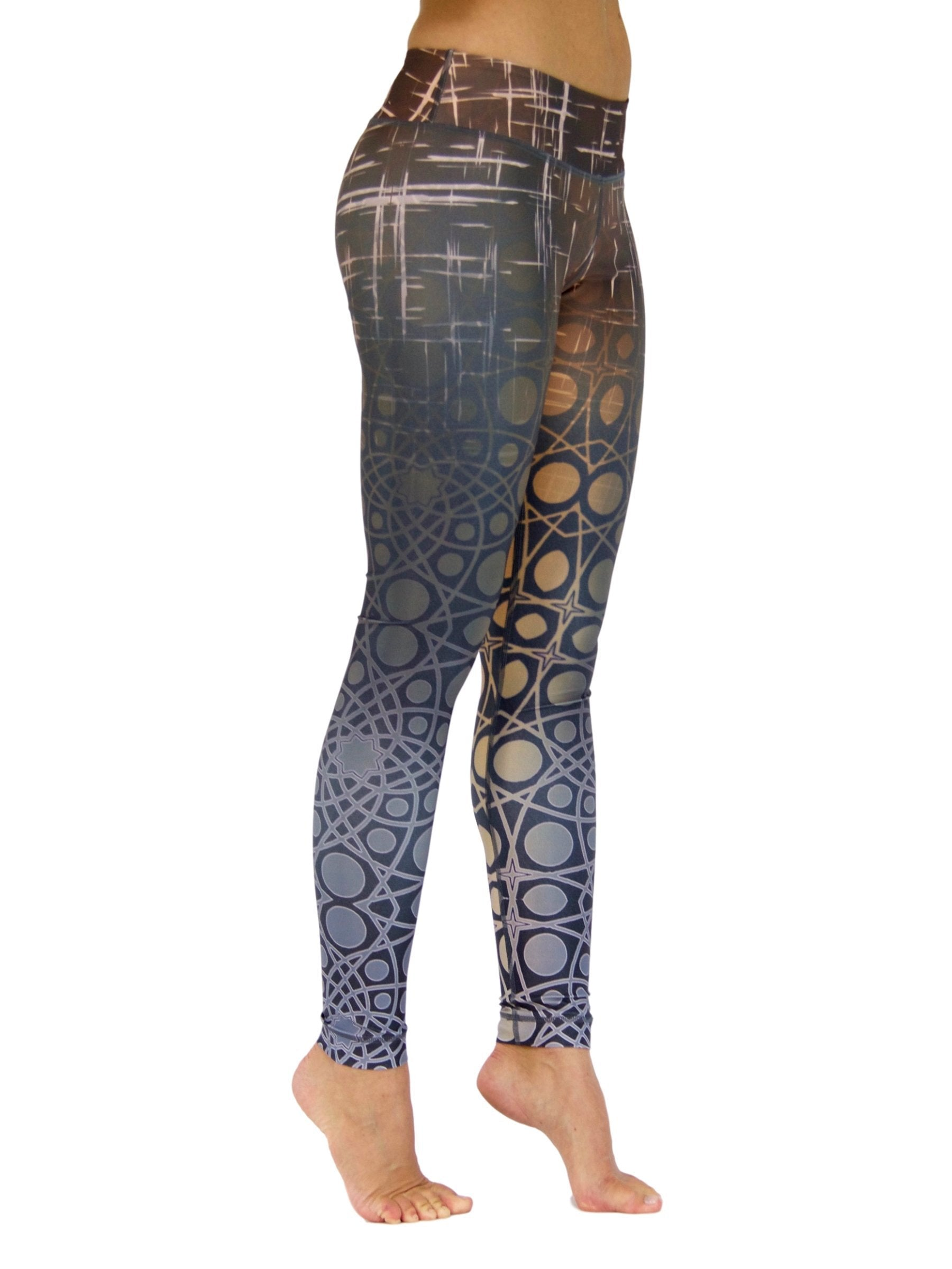 Retro Rush by Niyama - High Quality, , Yoga Legging for Movement Artists.