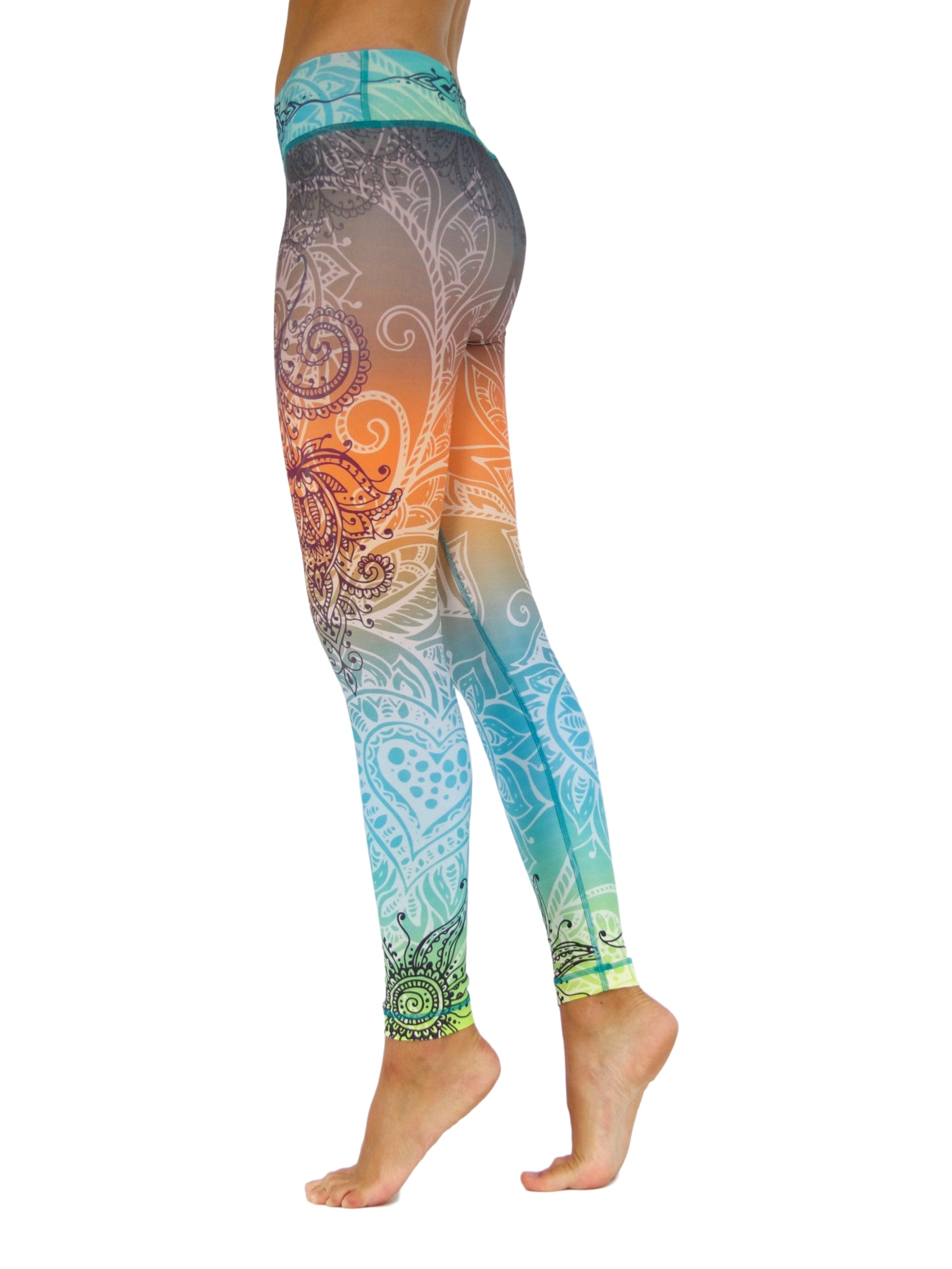 Summer Love by Niyama - High Quality, Yoga Legging for Movement Artists.