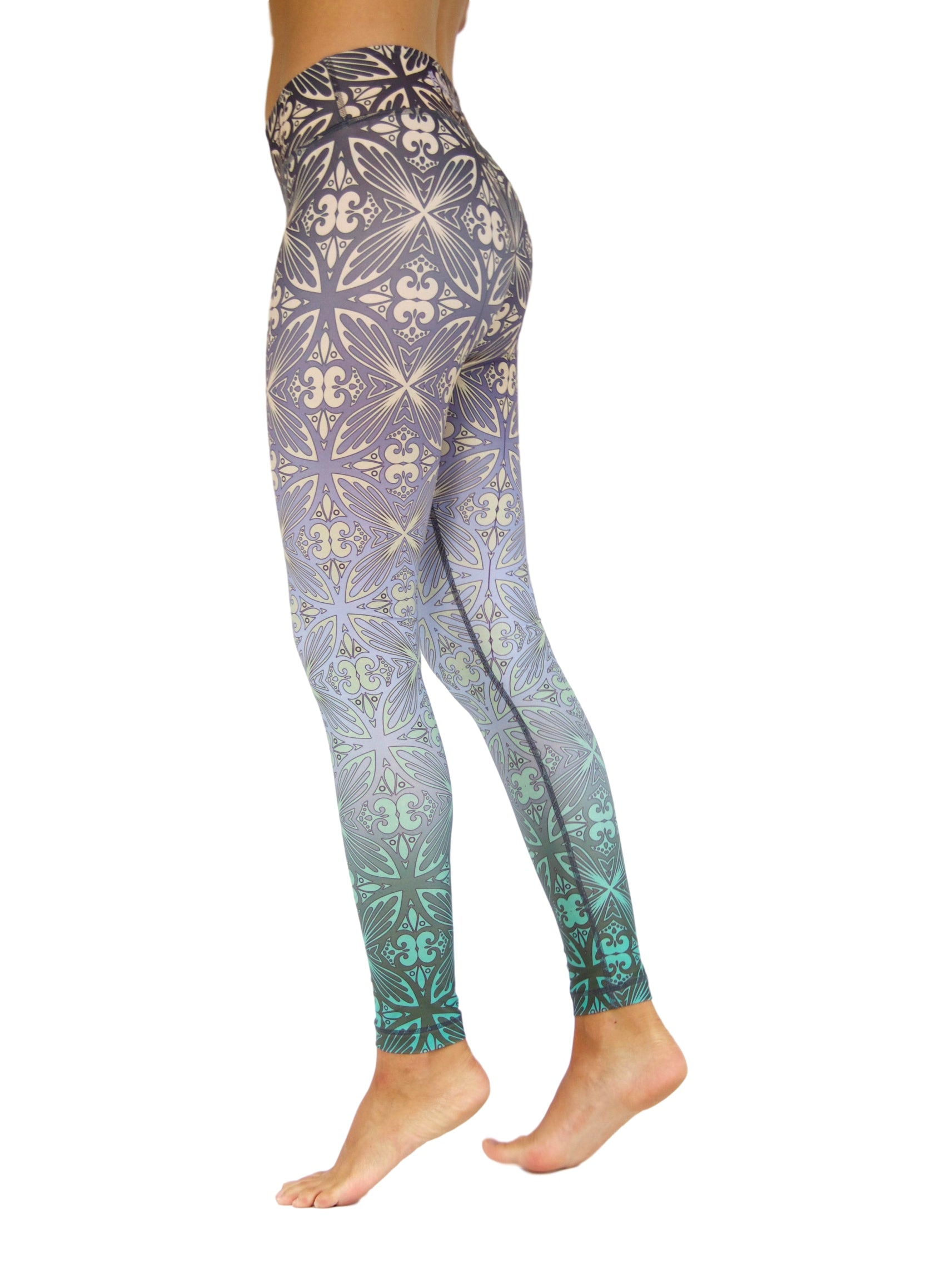 Tahitian Days by Niyama - High Quality, , Yoga Legging for Movement Artists.