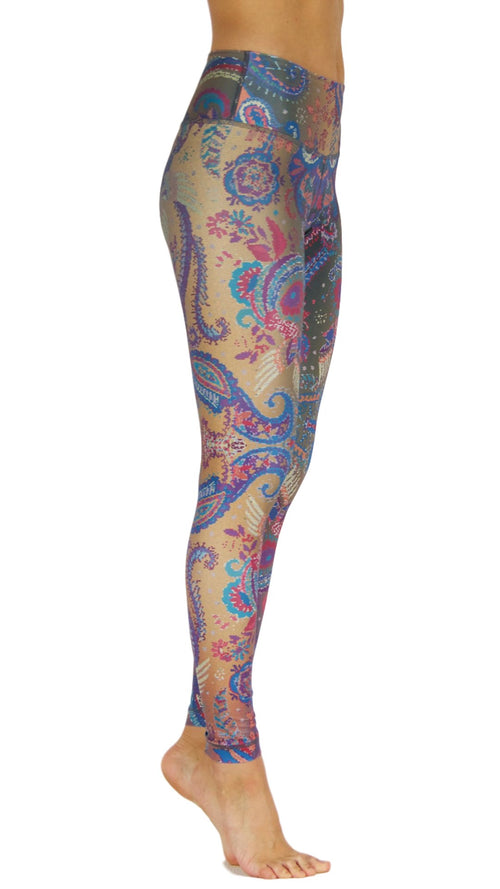 Carnivalista High Waist by Niyama - High Quality, Yoga Legging for Movement Artists.