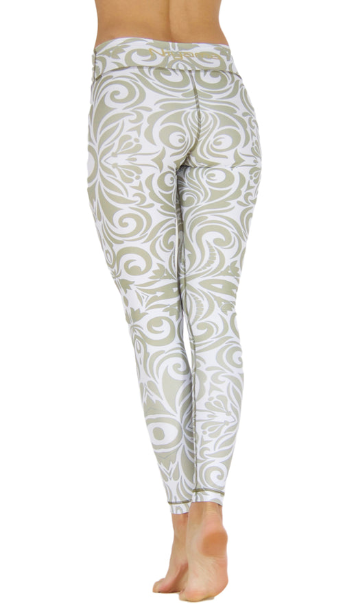 Glamorous Gold by Niyama - High Quality, Yoga Legging for Movement Artists.