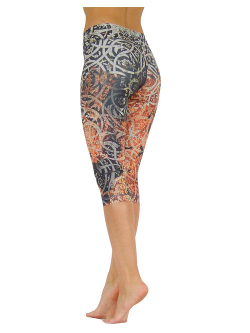 Tribal Spirit by Niyama - High Quality, , Yoga Legging for Movement Artists.