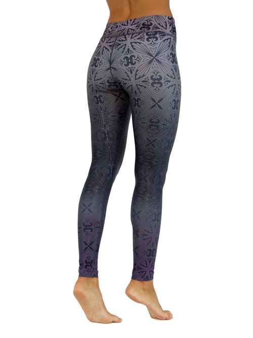 Tahitian Nights by Niyama - High Quality, , Yoga Legging for Movement Artists.